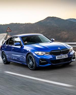 BMW 3 Series header shot
