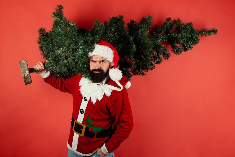 Broker as santa