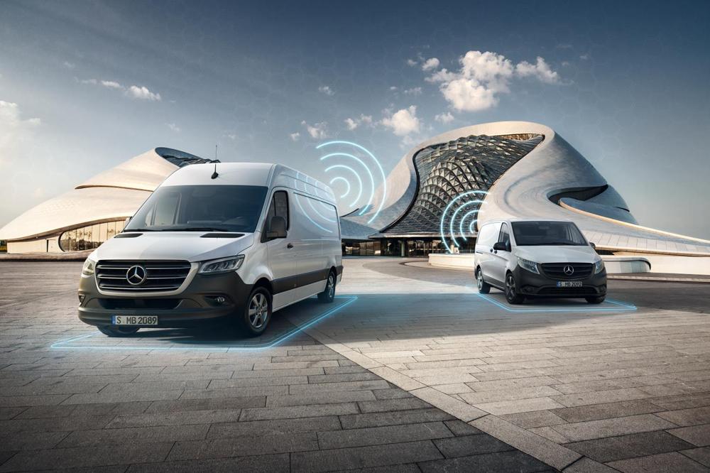 Mercedes Vans drive BrokerNews