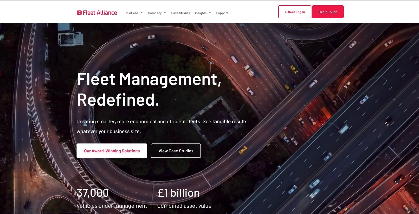 New Fleet Alliance website