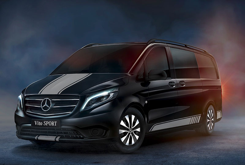 Mercedes Vito Sport Crew Black
