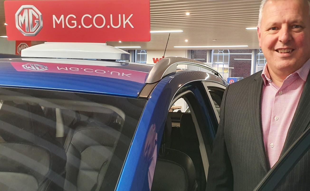 Geraint Isaac MG Motors