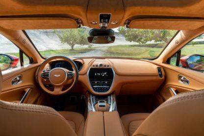 BN AstonMartin DBX interior