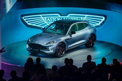 BN AstonMartin DBX launch