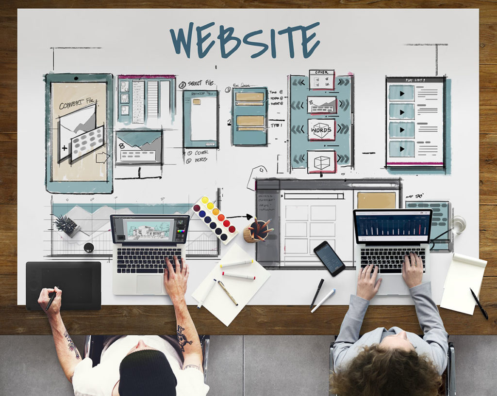 Broker website providers designing web pages2