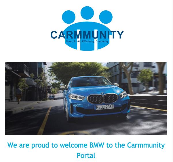 Carmmunity BMW portal