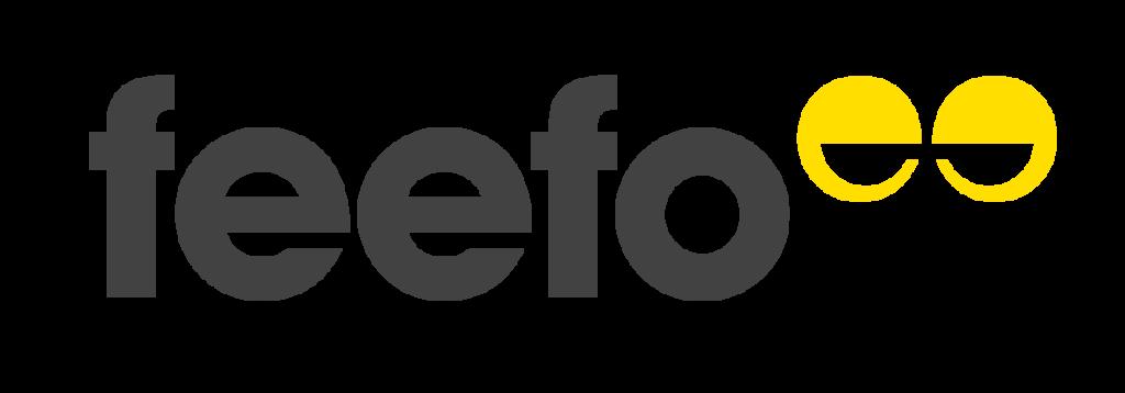 Feefo logo greyyellow
