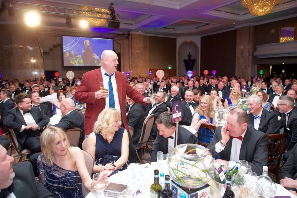 The Pub Landlord at the BVRLA dinner 2019