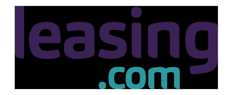 leasing.com logo purple teal