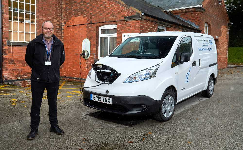 DriveElectric Nottingham ULEV Experience NHS Nissan e NV200