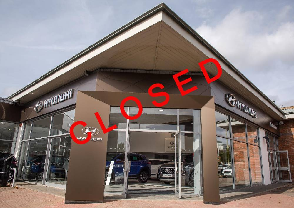 Dealerships have had to close because of COVID-19