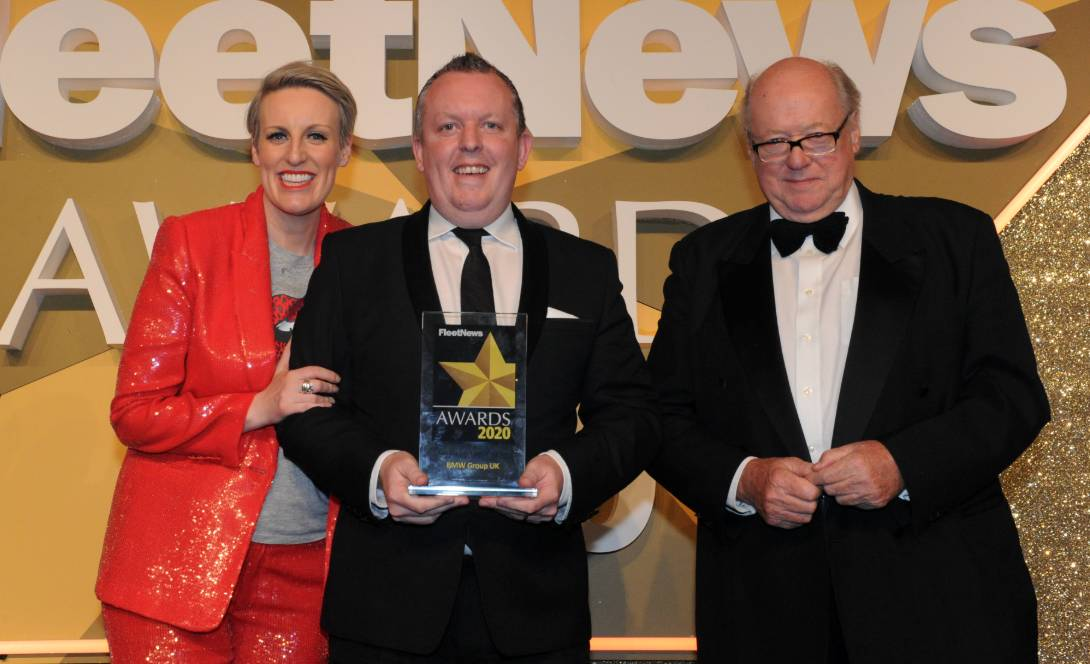 rob east centre collects best fleet manufacturer title