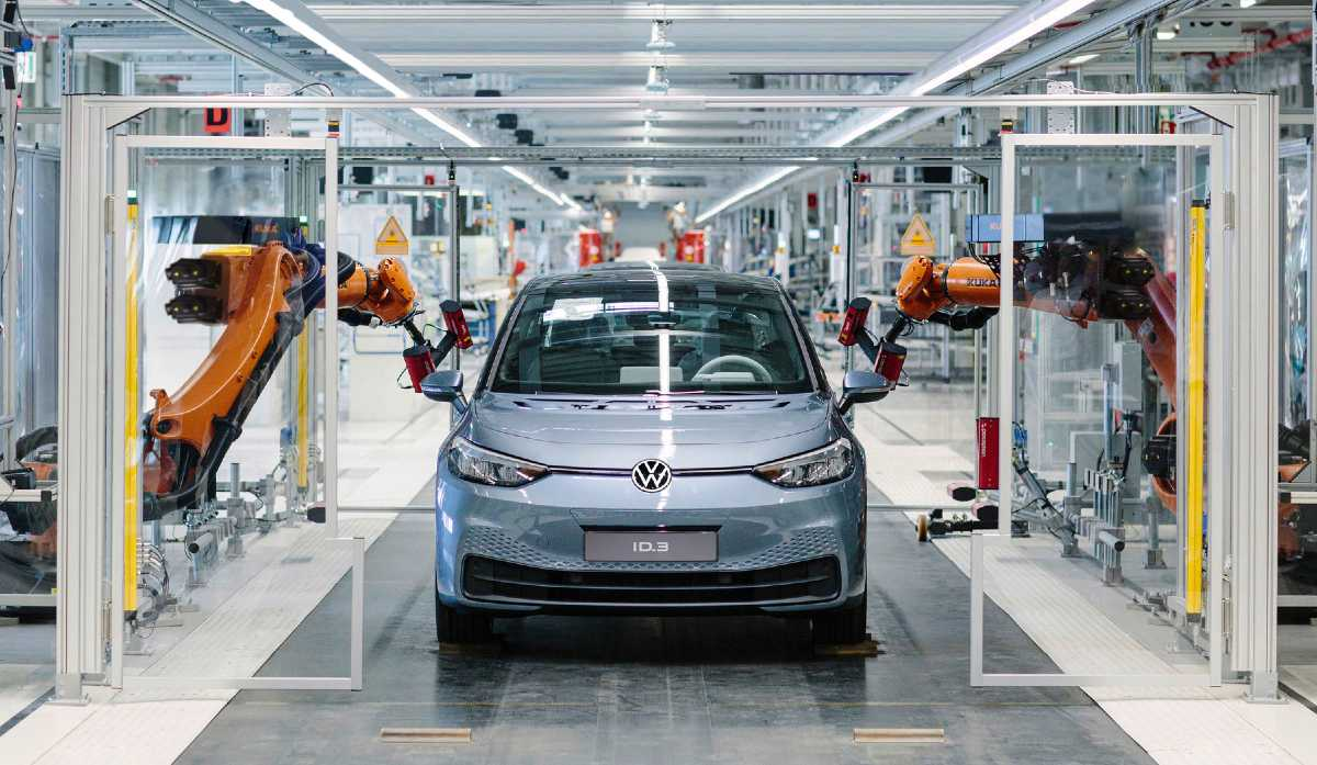 VW id3 starts production after coronavirus shutdown