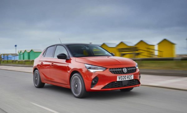 Vauxhall Corsa e action