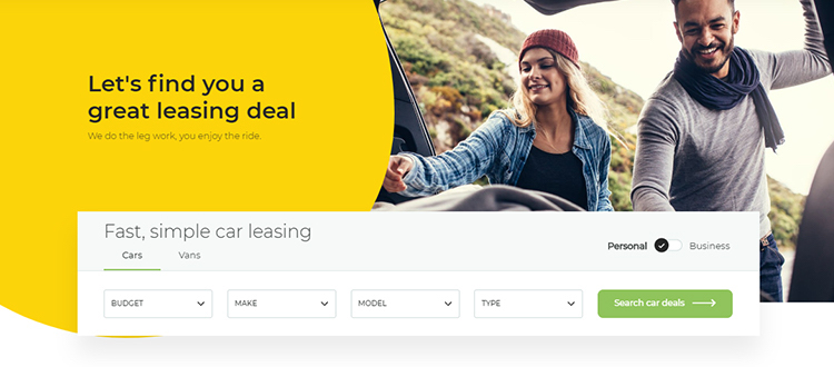 carparison leasing new website offers full commission disclosure