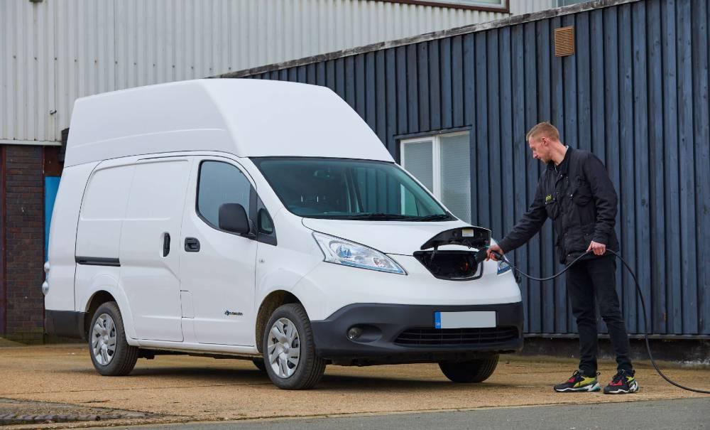 DriveElectric FlexiHire Voltia EV Converted Van