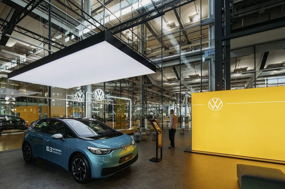 Volkswagen ID.3 store in Dresden