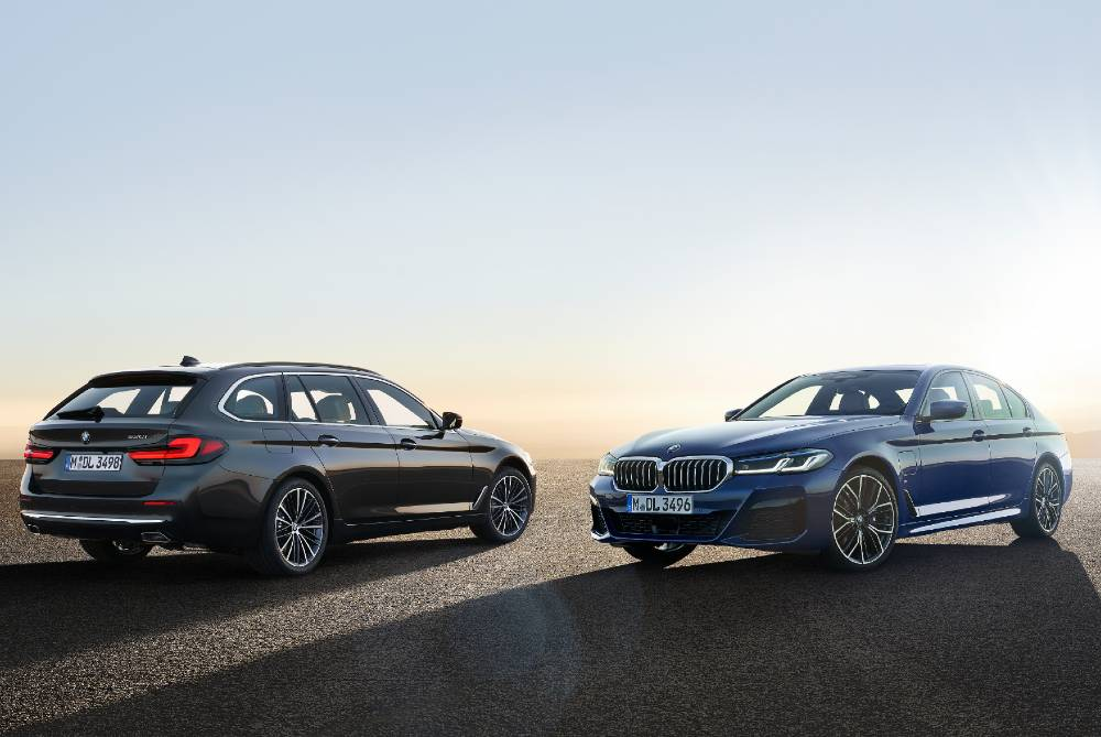 Newly updated BMW 5 Series Touring and Saloon models