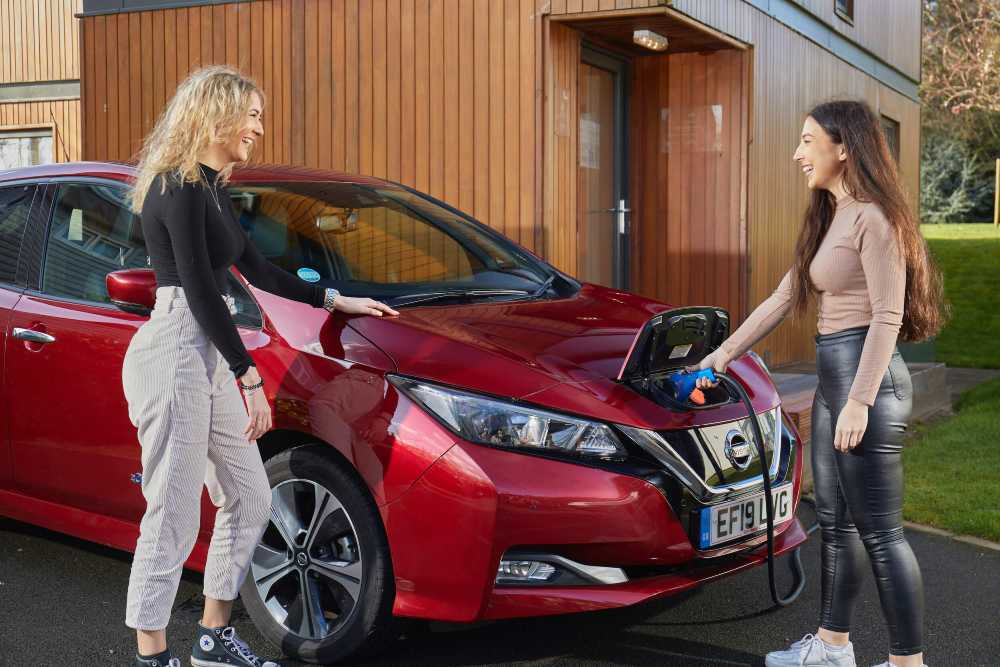 Nissan Leaf owners will take part in the Electric Nation Vehicle to Grid project
