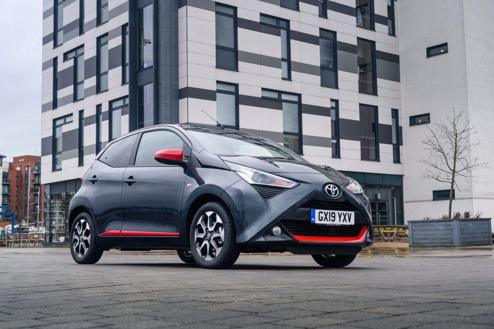 Toyota Aygo x trend Electro Grey Exterior Static