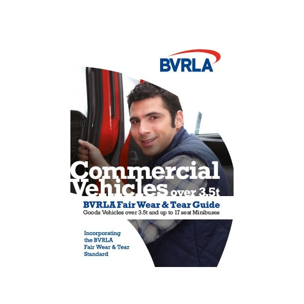 BVRLA Commercial Vehicle Fair Wear and Tear Guide CV2020