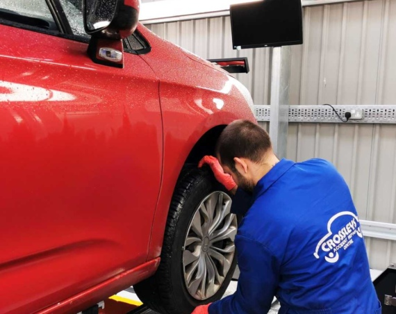 Crossleys Accident Repair to a three month payment holiday on its car lease rentals