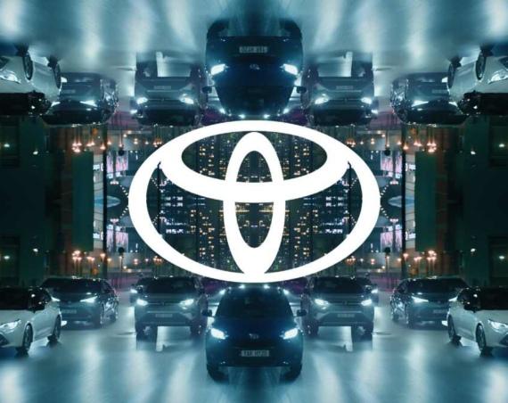 New Toyota brand logo