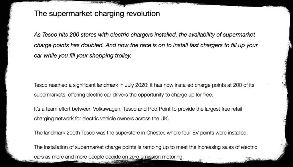 Screen Shot of The Supermarket charging revolution