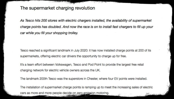 Screen Shot of The Supermarket charging revolution