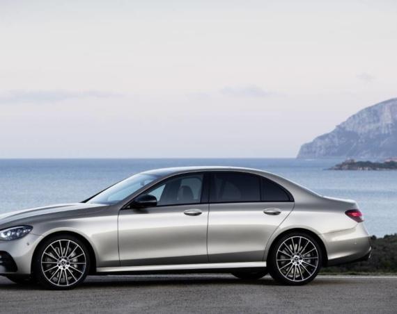 Facelifted Mercedes Benz E Class Saloon