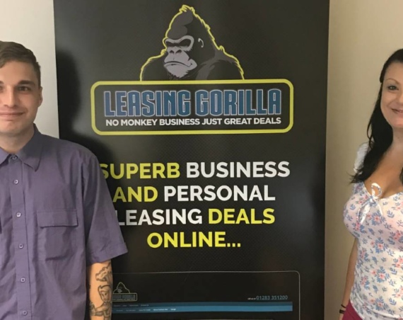 Leasing Gorilla New Starters Charlie Beresford and Lindsey Blakemore