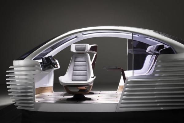 Covestro premium concept for a car interior of the future