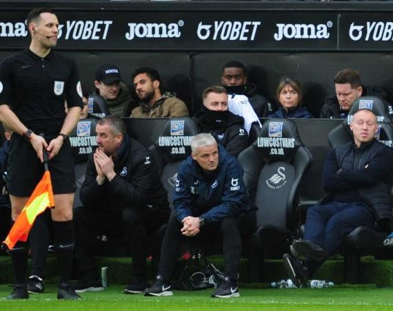 Low Cost Vans sponsors Swansea City dugout seats