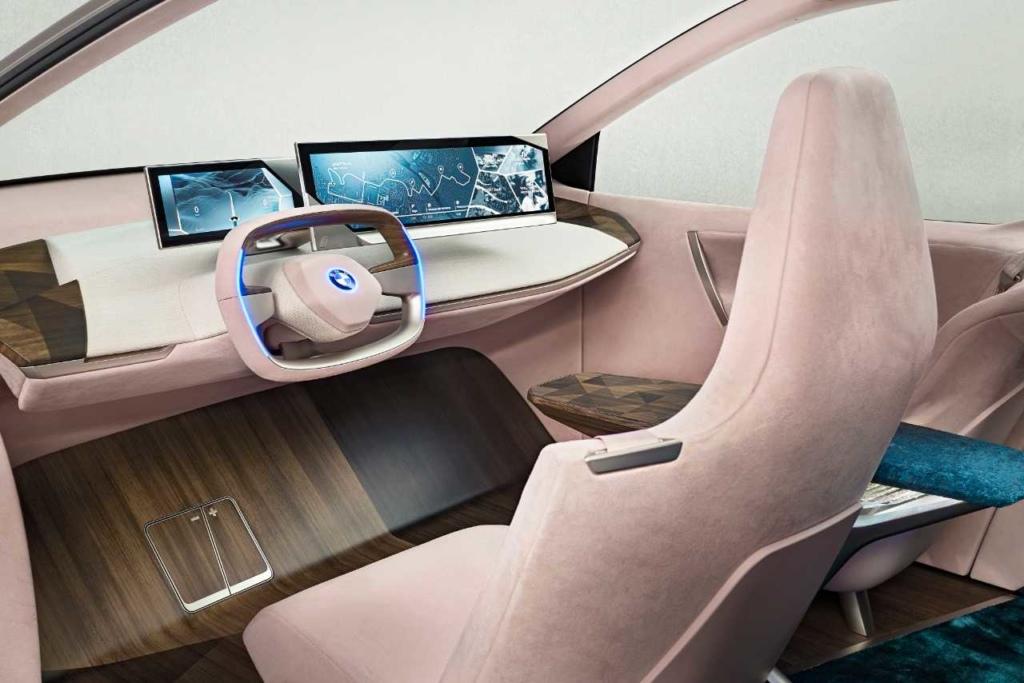 bmw vision i next interior