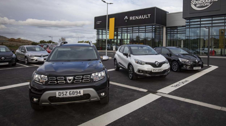 Shelbourne Renault car retailer