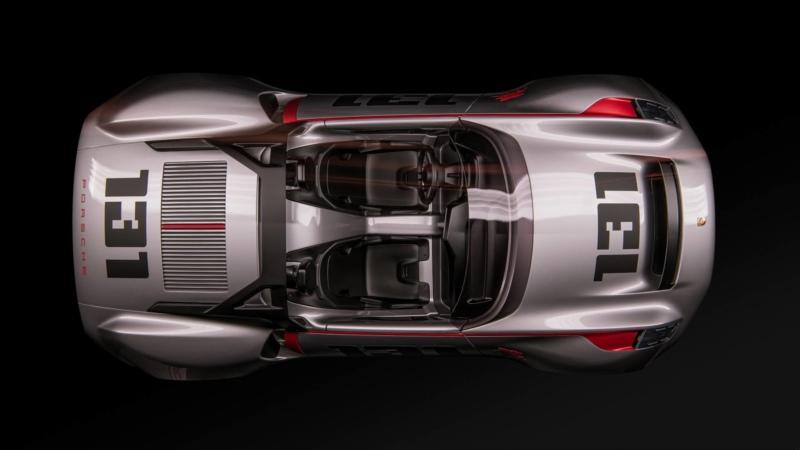 Porsche Vision Spyder 2019
