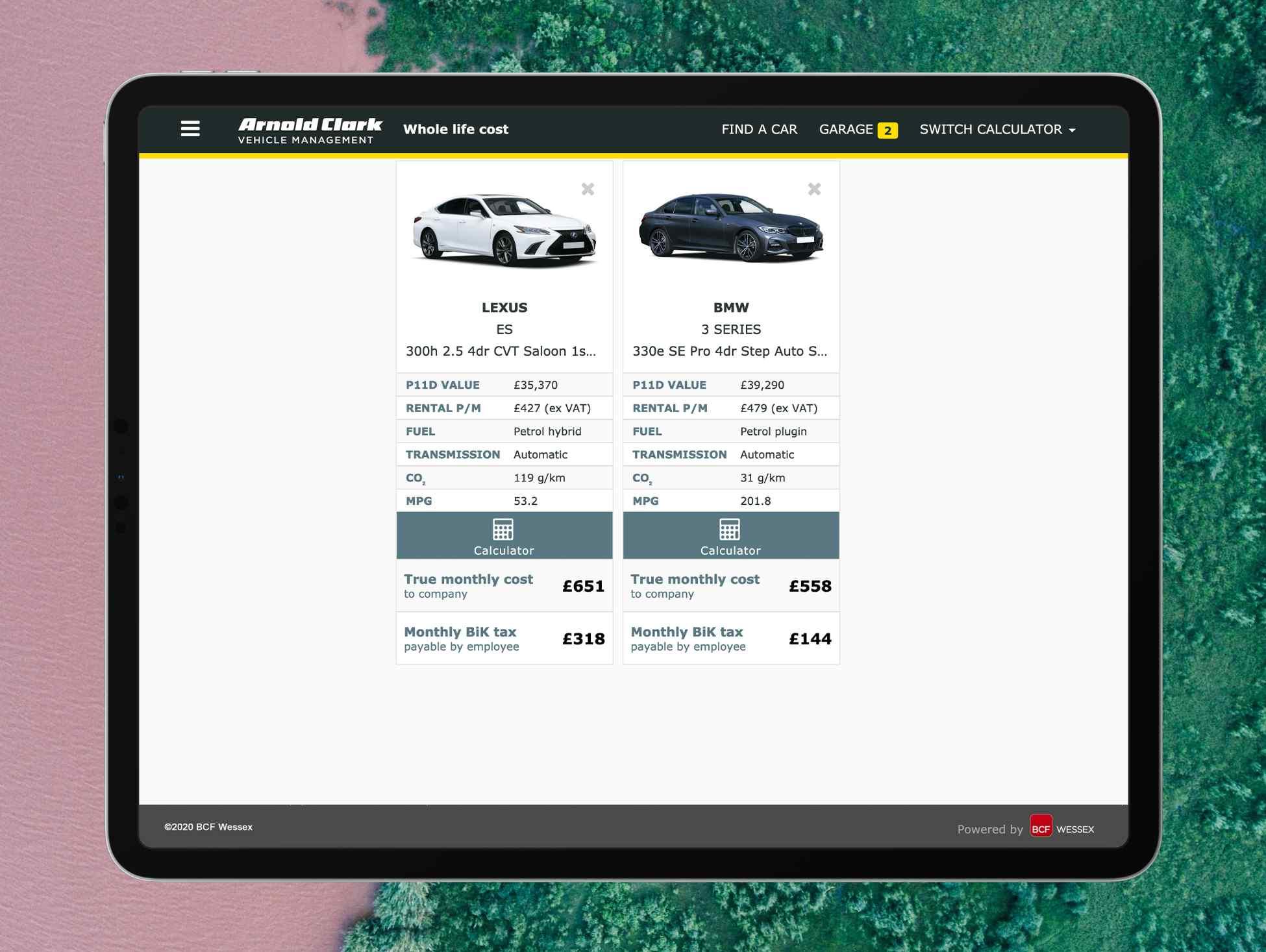 Lexus v 3 Series PHEV Nov 2020