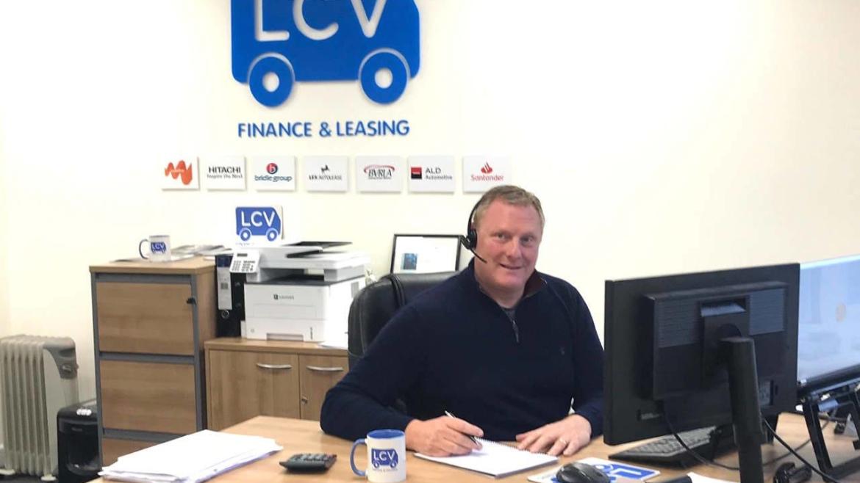 Stuart Gazeley of LCV Finance Leasing