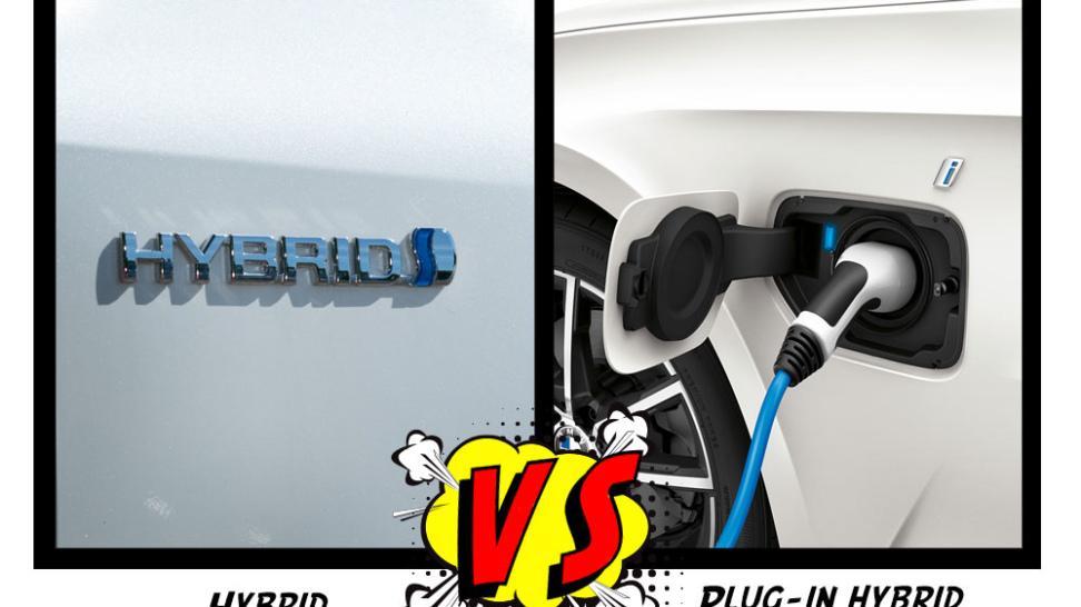 hybrid vs plug-in hybrid