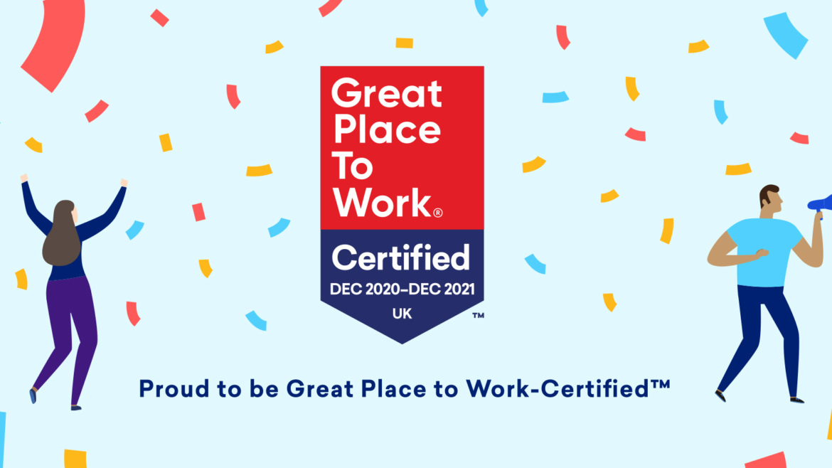 Great Places To Work banner