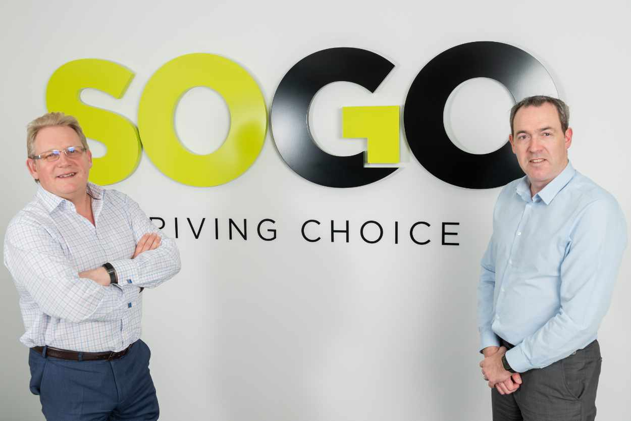 Mike Pearce and Lee O'Connell of SOGO