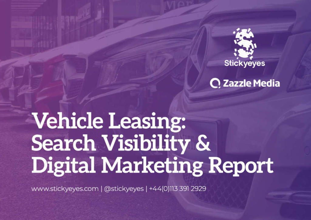 Vehicle Leasing Search Visibility Digital Marketing Report