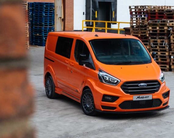 Ford Transit Custom better to purchase and claim super deduction