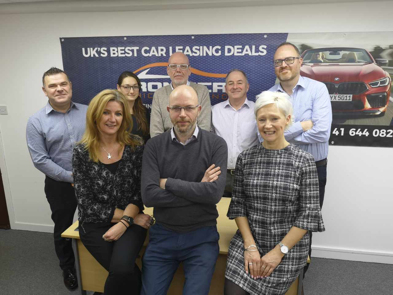 The Frontier Vehicle Leasing team