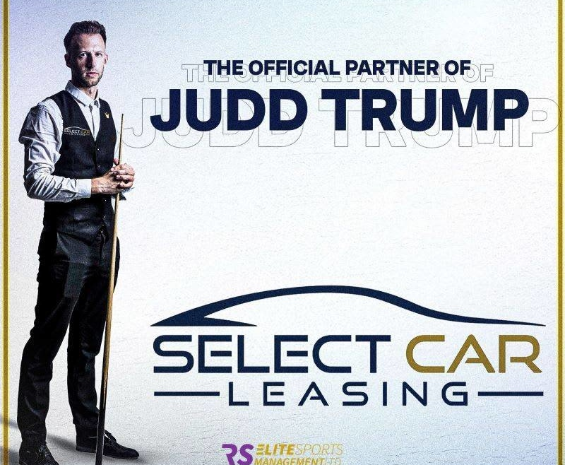 Select is the official partner of Judd Trump