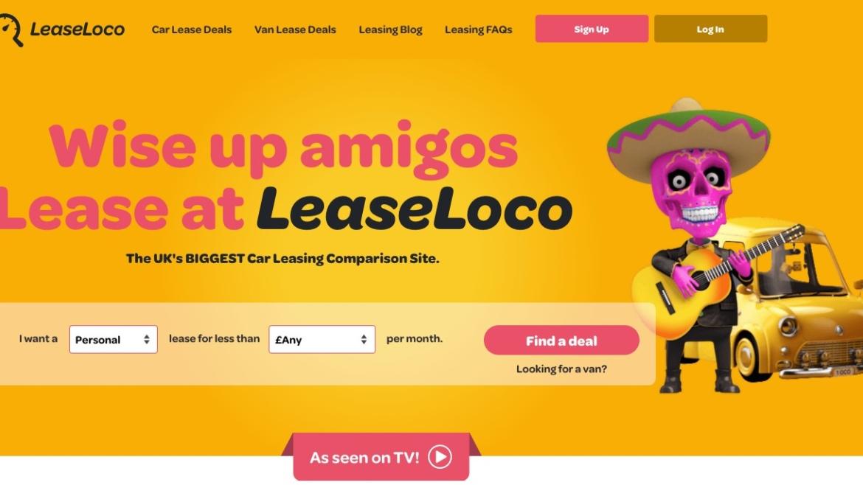 LeaseLoco website