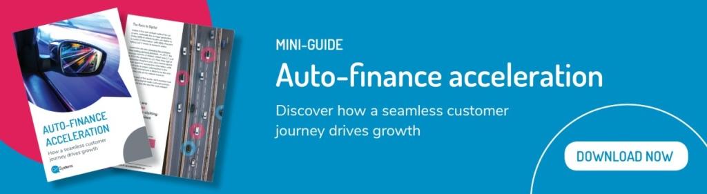 QV Systems Auto Finance Acceleration