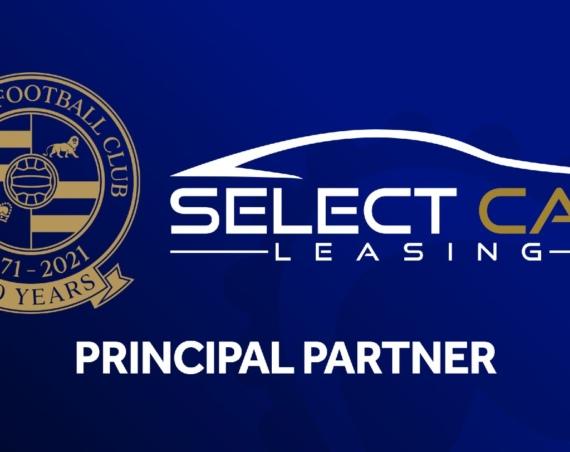 Select Car Leasing Principal Partner Reading FC