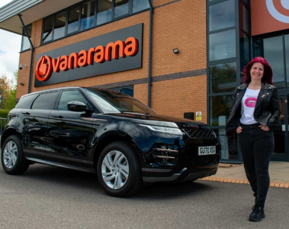 Vanarama Range Rover Winner