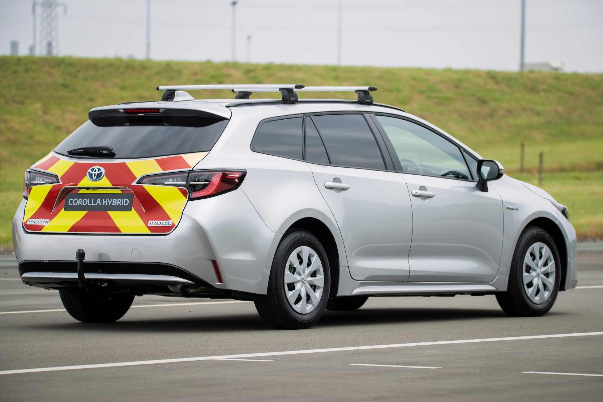 Toyota Corolla Commercial Van